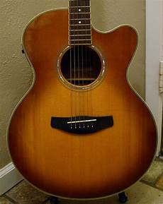 yamaha compass series acoustic electric guitar cpx 700