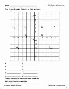 graphing coordinates 5th grade math skills printable skills sheets