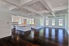 open house plans with large kitchens the ceiling and the recessed lights the kitchen