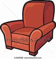 sessel sitzen clipart sessel leather wanne chair k15246363