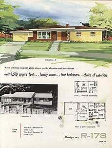 vintage ranch house plans town country ranch homes 1962 vintage house plans