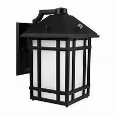 leonlite led outdoor wall lantern with dusk to dawn
