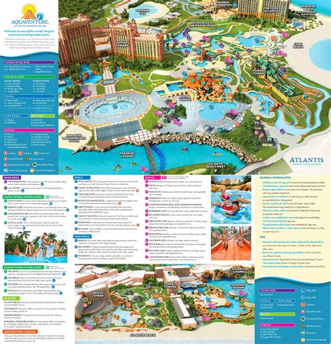 Atlantis Bahamas Map