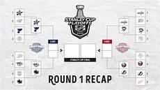 infographic stanley cup playoffs round 1 recap nhl com