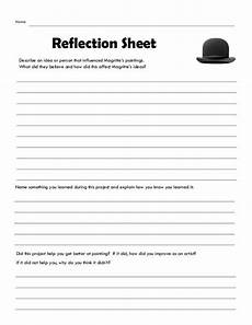 magritte reflection sheet 2014