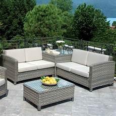 divani esterno rattan sintetico mobili lavelli divanetti in rattan