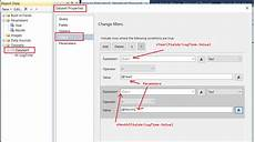 ssrs date filter how to filter the ssrs report by year and month