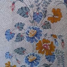 Motif Batik Gambar Flora Yang Mudah Digambar Dan Berwarna