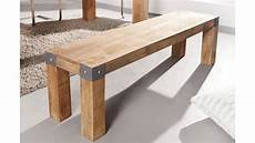banc en bois massif 160 cm collection espen tr 232 s robuste