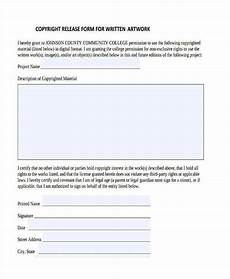 free 10 artwork release forms in pdf ms word