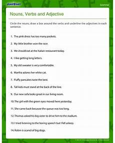 free printable adjective worksheets for 4th grade learning how to read
