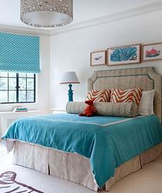 a touch of turquoise 30 modern bedroom ideas real simple