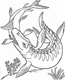 dinosaur coloring pages free online mosasaurus dinosaur coloring page free printable coloring pages