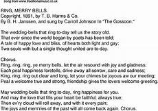 old time song lyrics for 33 ring merry bells