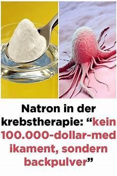 Alternative Zu Backpulver - natron in der krebstherapie kein 100 000 dollar