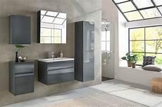 Badezimmermöbel Grau Hochglanz - sam 174 badezimmerm 246 bel parma 5tlg grau hochglanz 70 cm auf