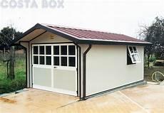 box per auto prefabbricati garage prefabbricato coibentato a due spioventi baita
