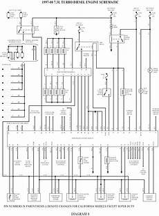 solved need wiring diagram for 2000 f250 7 3l power fixya