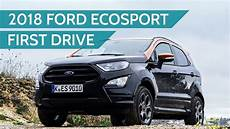 2018 Ford Ecosport St Line Drive Review