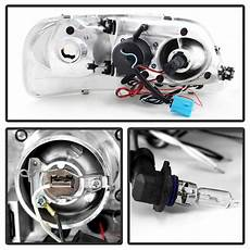 99 F150 Wiring Exterior Light by 97 03 Ford F150 Dual Eye Halo Led Projector