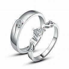 925 sterling silver couple love imperial crown wedding