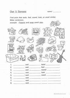 the five senses worksheets 12571 our 5 senses worksheet free esl printable worksheets made by teachers