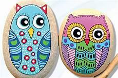 25 Best Owl Painted Rock Ideas