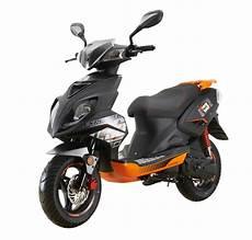 explorer speed 50 motorroller schwarz orange 45 km h