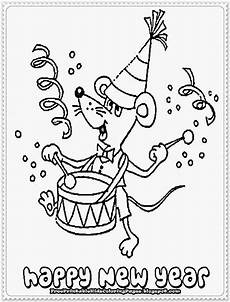 new year printable coloring pages free printable