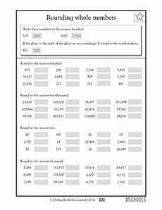 free math worksheets for rounding 8101 4th grade math worksheets rounding whole numbers rounding whole numbers 4th grade math