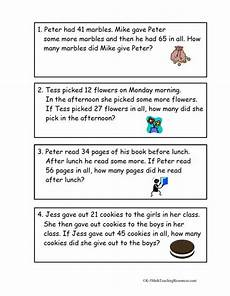 2 step word problems worksheets 2nd grade 11434 2nd grade number math words math word problems second grade math