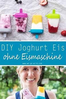 joghurt eis selber machen ohne eismaschine joghurt eis