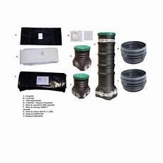 kit fosse septique kit fosse sol perm 233 able 3000l castorama