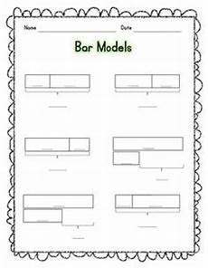 bar model word problems worksheets 4th grade 11460 part whole model from singapore math addition subtraction numbers and operations stuff