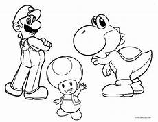 printable yoshi coloring pages for cool2bkids