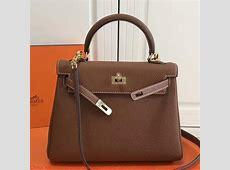 China Hermes Brown Clemence Kelly 25cm GHW Bag Orlando, FL