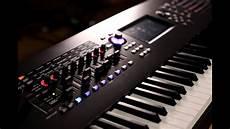 yamaha montage 8 yamaha montage synthesizer demo with angelos