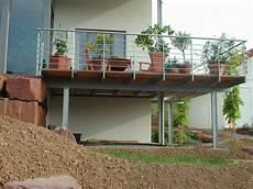 terrasse auf stahlkonstruktion metallbau menig 97956 werbach gamburg hochwertige stahlbau und schlosserarbeiten f 252 r