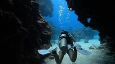scuba diving at devils grotto grand cayman youtube