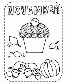 November Malvorlagen Quotes Printable November Fall Coloring Page Coloringpagebook