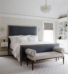 Bedroom Ideas Blue Headboard by Gray Bedroom With Blue Velvet Headboard Normally I