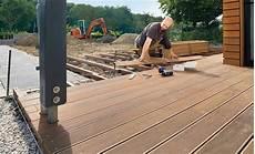 Bangkirai Verlegen Holzterrasse Terrassenbelag Und