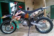 Jupiter Z Modif Semi Trail by Gambar Modifikasi Motor Yamaha Jupiter Mx Jadi Trail