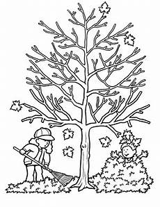autumn tree worksheet education