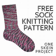 simple sock free knitting pattern nobleknits