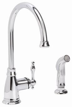premier kitchen faucets premier wellington tea pot style kitchen faucet with side spray chrome traditional kitchen