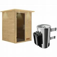 karibu sauna 187 prelly 171 bxtxh 174 x 160 x 160 cm 3 6 kw