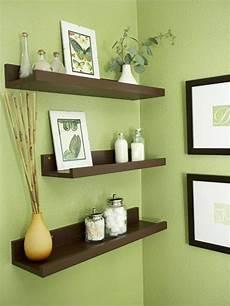 Küche Streichen Farbe Ideen - kinderzimmer braun grn 35 schwebende wandregale in braun