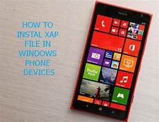 how to instal xap file windows phone device eagles tec