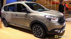 2018 dacia lodgy stepway exterior and interior